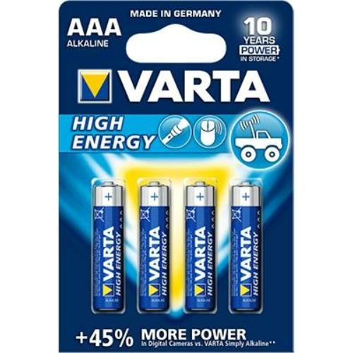 Varta High Energy LR03/AAA elem