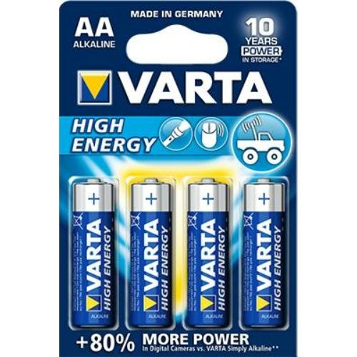 Varta High Energy LR6/AA elem
