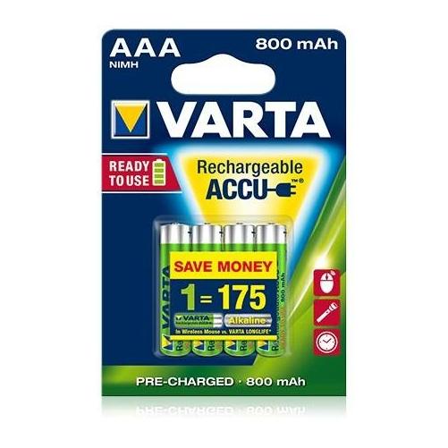 Varta Rechargeable Accu AAA 800 mAh tölthető elem