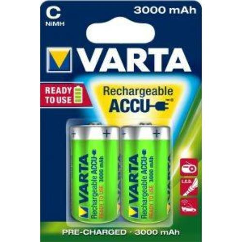 Varta Rechargeable Accu D 3000 mAh tölthető elem