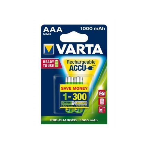 Varta Rechargeable Accu AAA 1000 mAh tölthető elem