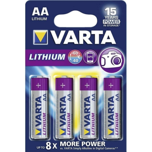 Varta Profession Lithium LR6/2 elem