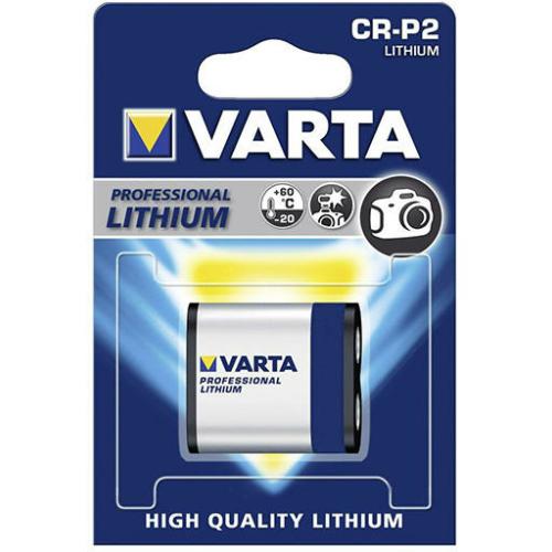 Varta Photo lithium CR-P2 6V elem