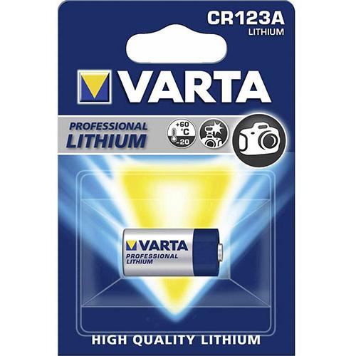 Varta Photo lithium CR123A 3V elem
