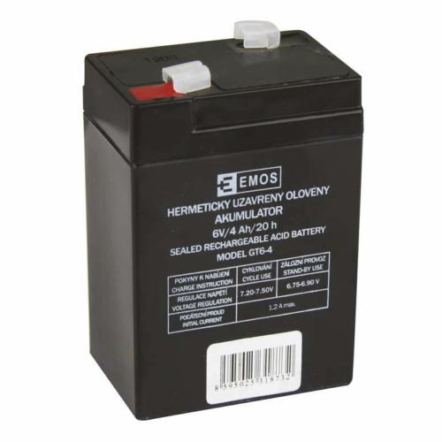 Emos 6V 4Ah VRLA akkumulátor