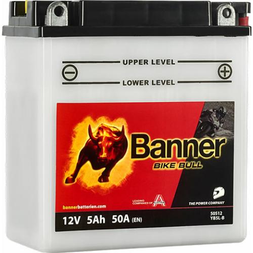 Banner Bike Bull YB5L-B motorakkumulátor