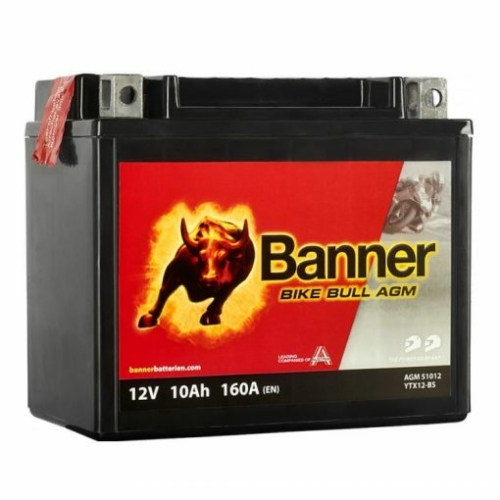 Banner Bike Bull YTX12-BS 10Ah 160Ah bal+ akkumulátor