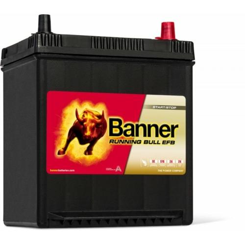 Banner Running Bull EFB 12V 38Ah J+ akkumulátor