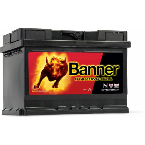 Banner Starting Bull 12V 55Ah 450A jobb+ akkumulátor (55519)
