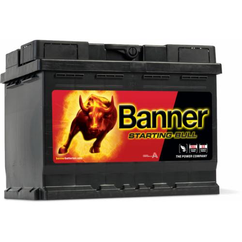 Banner Starting Bull 12V 62Ah 510A jobb+ akkumulátor (56219)