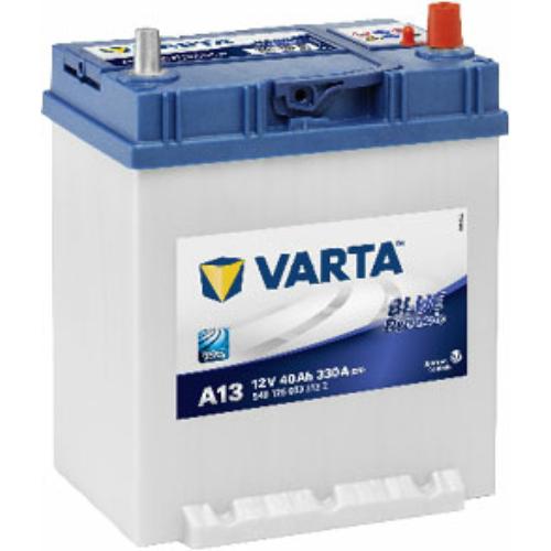 Varta Blue Dynamic 40 Ah 330A Asia J+ talpas (5401250333132)