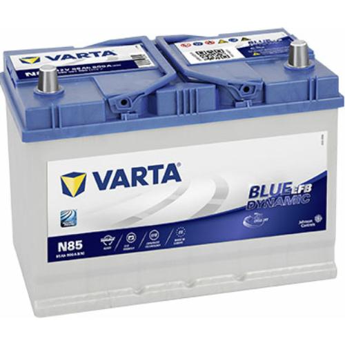 Varta Blue Dynamic EFB 12V 85Ah 800A Asia jobb+ akkumulátor (585501080D842)