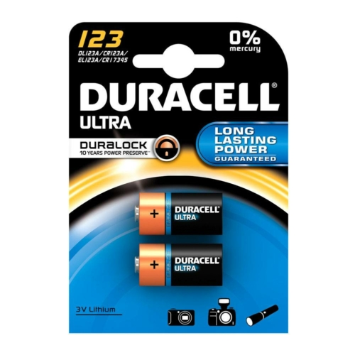 Duracell Ultra Photo 123 3V elem