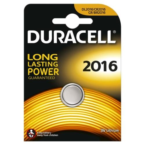 Duracell Lithium 2016 3V gombelem