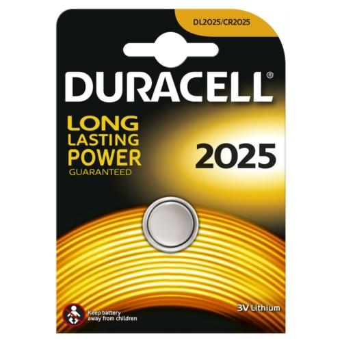 Duracell Lithium 2025 3V gombelem
