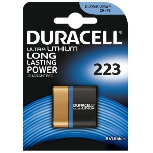 Duracell Ultra Photo 223/CR-P2 6V elem