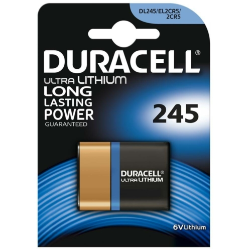 Duracell Ultra Photo 245/2CR5 6V elem