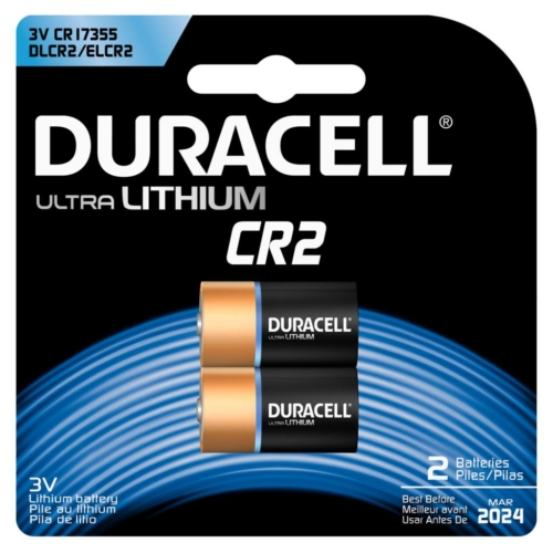 Duracell Ultra Photo CR2 3V elem
