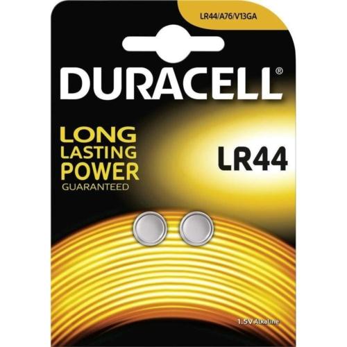 Duracell Alkaline LR44 1,5V gombelem