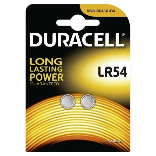 Duracell Alkaline LR54 1,5V gombelem