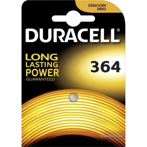 Duracell Silver Oxide 364 1,5V gombelem