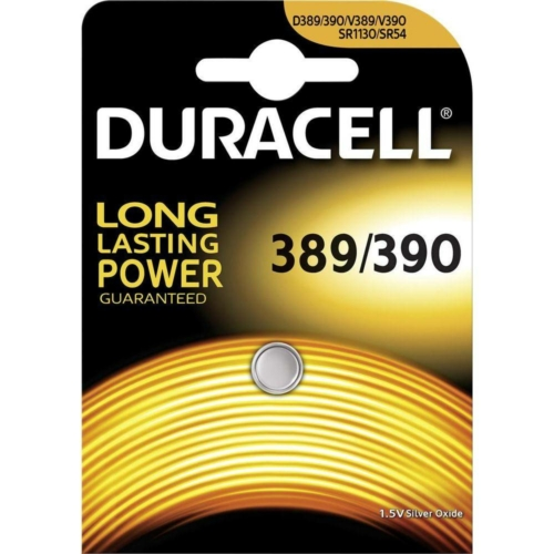 Duracell Silver Oxide 389 1,5V gombelem