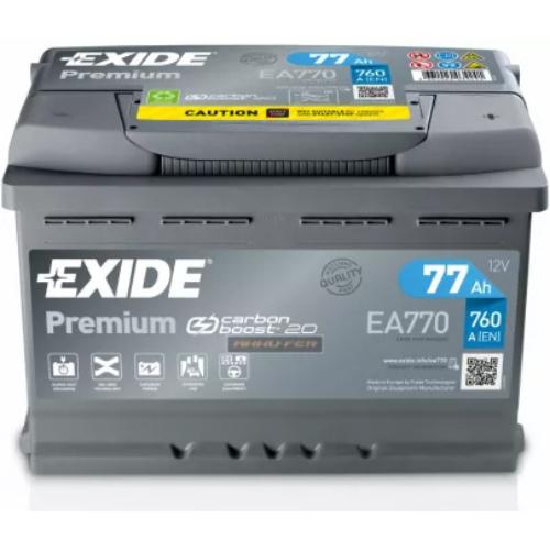 Exide Premium 61Ah 600A J+ akkumulátor