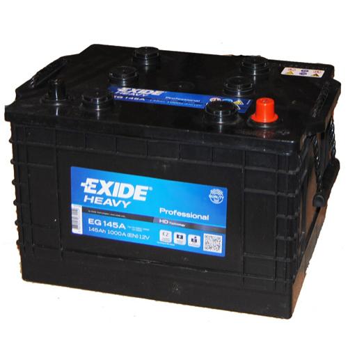 Exide EG145A 12V 145Ah 1000A J+ teherautó akkumulátor