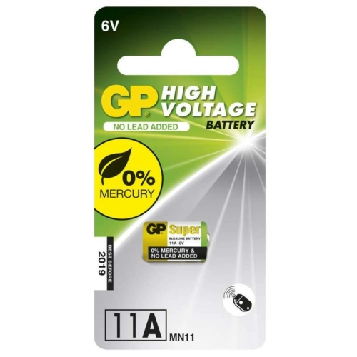 GP High Voltage 11A 6V elem