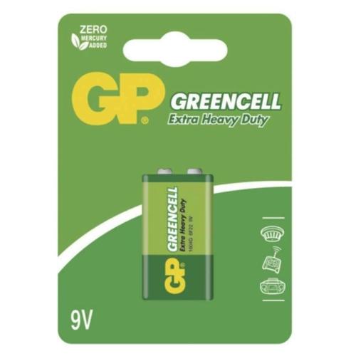 GP Greencell 6F22/9V elem
