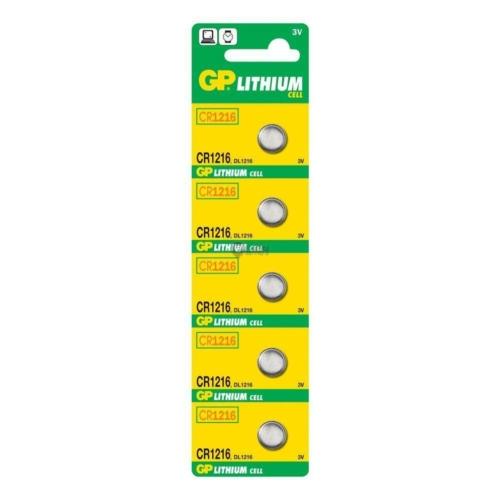 GP Lithium 1216 3V gombelem