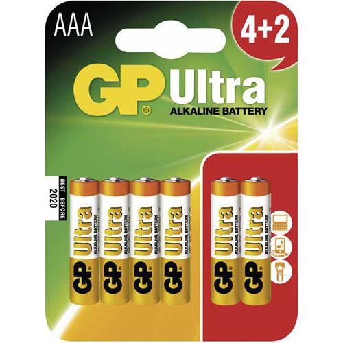 GP Ultra Alkaline LR03/AAA elem
