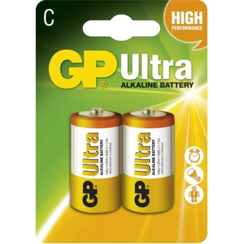 GP Ultra Alkaline LR14/C elem