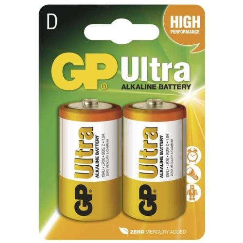 GP Ultra Alkaline LR20/D elem