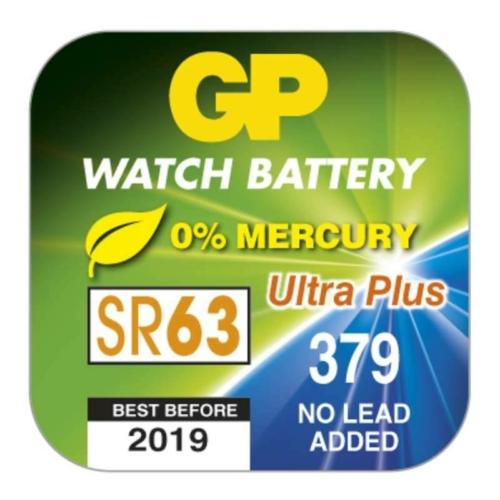 GP Silver Oxide 379/SR63/SR521 1,5V gombelem