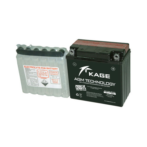 KAGE AGM YB9L-BS (K12N9-3B-BS) 12V 9Ah 95A gondozásmentes motorakkumulátor