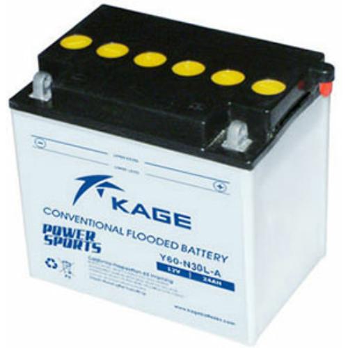 KAGE Conventional Y60-N30L-A 12V 28Ah 300A motorakkumulátor