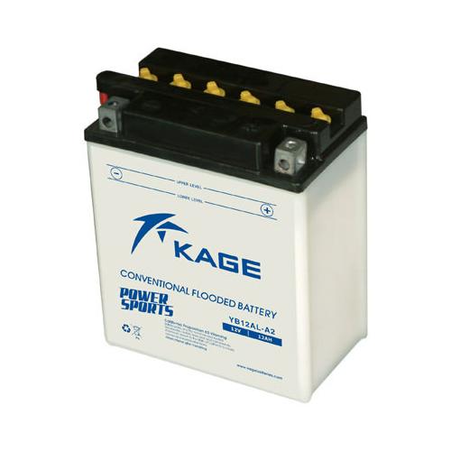 KAGE Conventional YB12AL-A2 12V 12Ah 135A motorakkumulátor