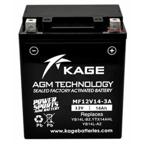 KAGE Conventional YB14L-B2 motorakkumulátor