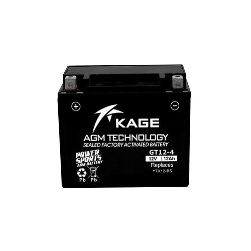 KAGE AGM YTX12-BS 12V 12Ah 150A gondozásmentes motorakkumulátor