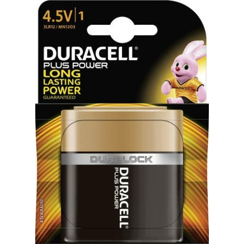 Duracell Plus Power 3LR12/4,5V elem