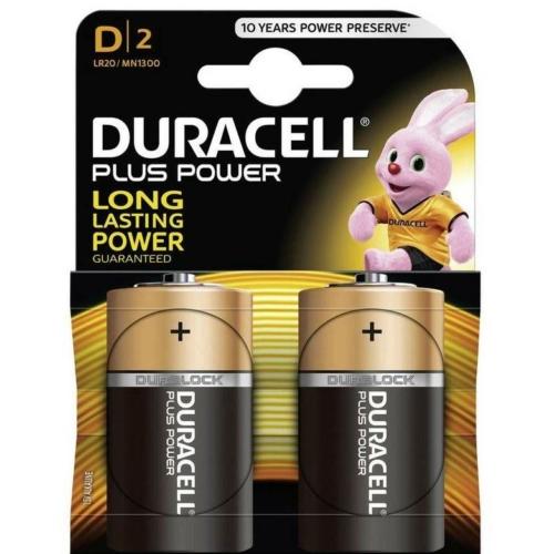 Duracell Plus Power LR20/D elem