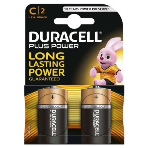 Duracell Plus Power LR14/C elem