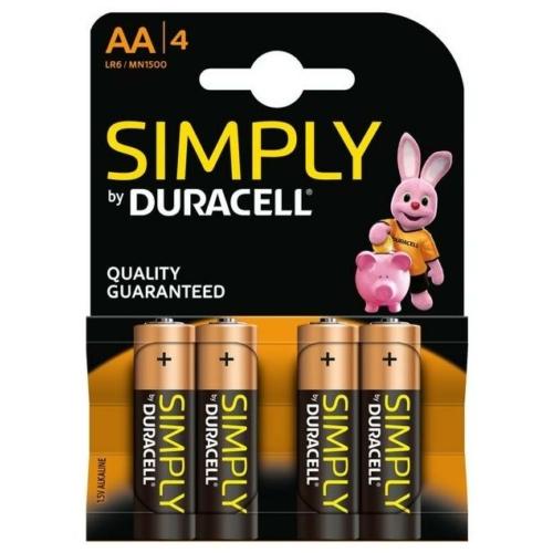 Duracell Simply LR6/AA elem