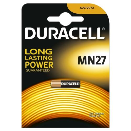 Duracell Alkaline MN27 12V elem