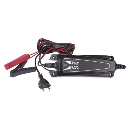 EMOS autó akkumulátor töltő 6/12V 4A
