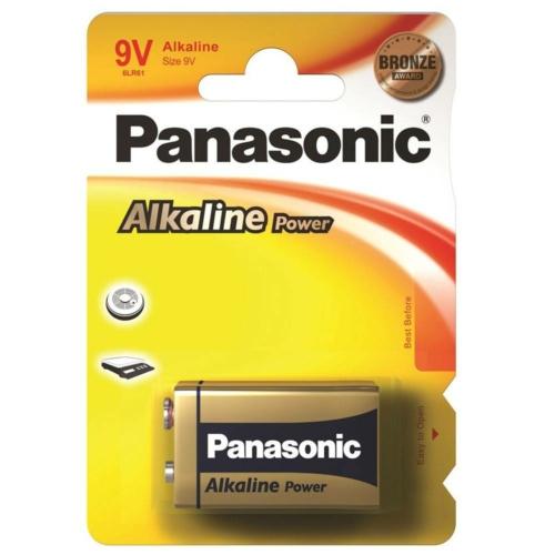 Panasonic Bronze Power 6LR61/9V elem