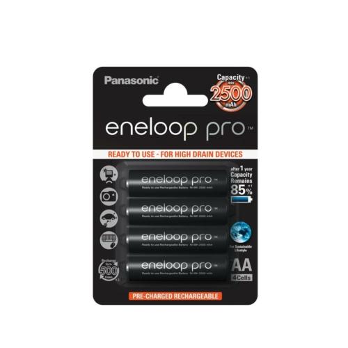 Panasonic Eneloop Pro AA 2500 mAh tölthető elem