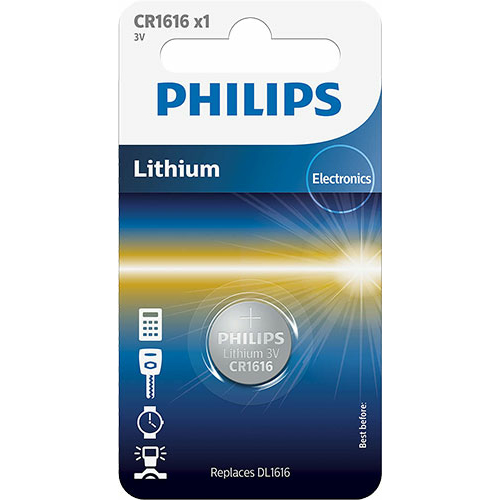 Philips CR 1616 3V lítium gombelem
