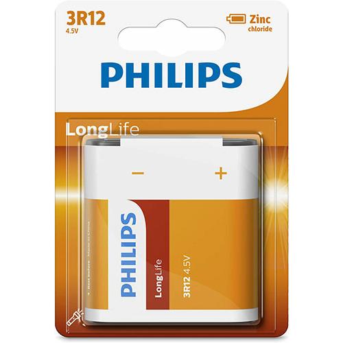 Philips Long Life 3R12/4,5V elem
